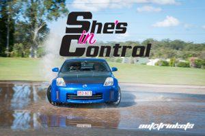 She's In Control - Afternoon Skid Pan Mt Cotton - 20 November 2021 @ Mount Cotton Driver Training Centre   Cornubia   Queensland   Australia